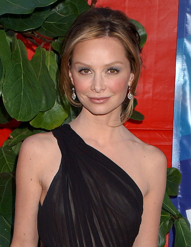 Calista Flockhart at the 58th Annual Primetime Emmy Awards.