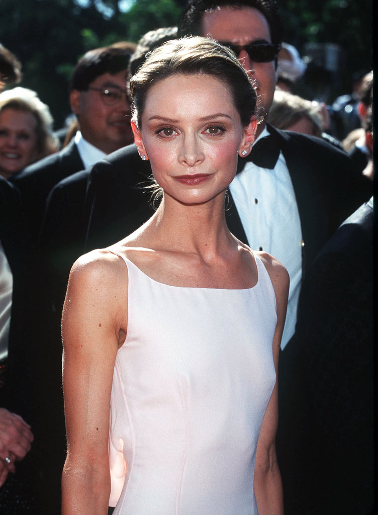 Calista Flockhart at The 50st Annual Primetime Emmy Awards.