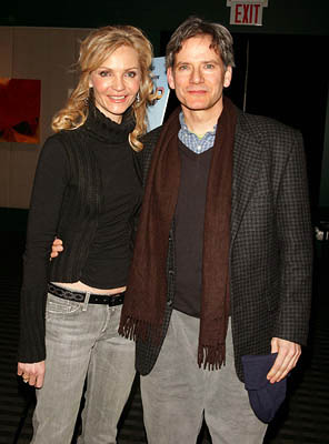 Premiere: Joan Allen and Campbell Scott at the NY premiere of Off the Map - 3/1/2005