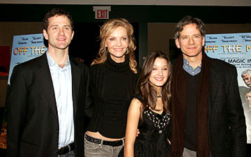 Premiere: Jim True-Frost, Joan Allen, Valentina de Angelis and Campbell Scott at the NY premiere of Off the Map - 3/1/2005