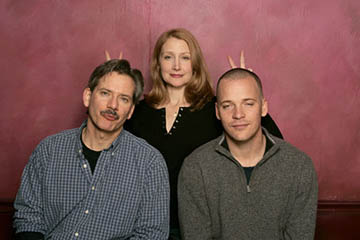 Campbell Scott, Patricia Clarkson and Peter Sarsgaard of The Dying Gaul Sundance Film Festival - 1/23/2005
