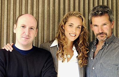 Dylan Kidd, Elizabeth Berkley and Campbell Scott Roger Dodger Toronto Film Festival - 9/8/2002