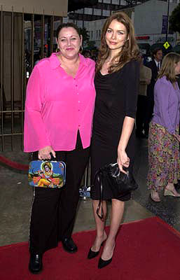 Premiere: Camryn Manheim and Saffron Burrows at the Hollywood premiere of Fine Line's The Anniversary Party - 6/6/2001