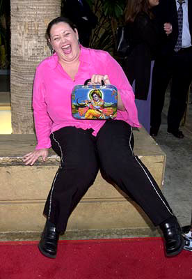 Premiere: Camryn Manheim at the Hollywood premiere of Fine Line's The Anniversary Party - 6/6/2001
