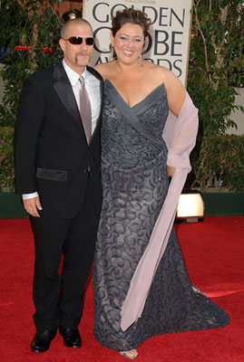 Camryn Manheim and guest 63rd Annual Golden Globe Awards - Arrivals Beverly Hills, CA - 1/16/05