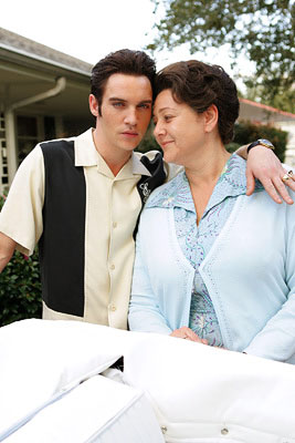 "Elvis (Jonathan Rhys-Meyers) and his mother Gladys (Camryn Manheim) ""Elvis"" - 2005"