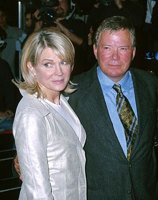 Premiere: Candice Bergen and William Shatner at the Hollywood premiere of Warner Brothers' Miss Congeniality - 12/14/2000