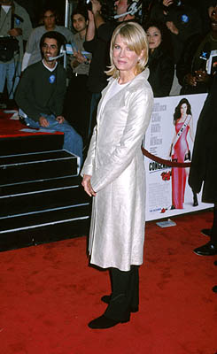 Premiere: Candice Bergen at the Hollywood premiere of Warner Brothers' Miss Congeniality - 12/14/2000