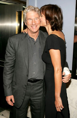 Premiere: Richard Gere and Carey Lowell at the New York premiere of Miramax Films' Shall We Dance? - 10/5/2004 Photos: Kevin Mazur, WireImage.com