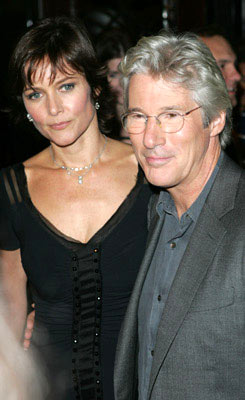 Premiere: Carey Lowell and Richard Gere at the New York premiere of Miramax Films' Shall We Dance? - 10/5/2004 Photos: James Devaney, WireImage.com