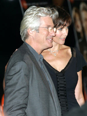 Premiere: Richard Gere and Carey Lowell at the New York premiere of Miramax Films' Shall We Dance? - 10/5/2004 Photos: James Devaney, WireImage.com