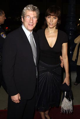 Premiere: Richard Gere and Carey Lowell at the LA premiere of Miramax's Chicago - 12/10/2002