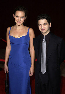 Carla Gallo and Samm Levine 53rd Annual Emmy Awards - 11/4/2001