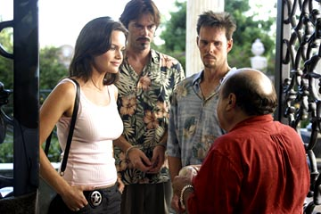 "Carla Gugino, Billy Burke, Kevin Dillon and Danny DeVito ABC's ""Karen Sisco"""