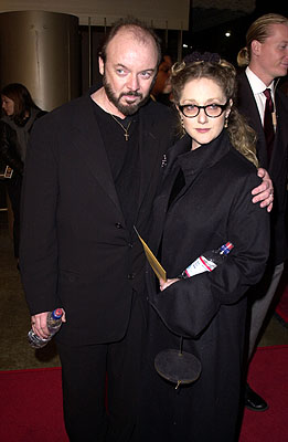 Premiere: Bud Cort and Carol Kane at the Los Angeles premiere of Warner Brothers' The Pledge - 1/09/2001