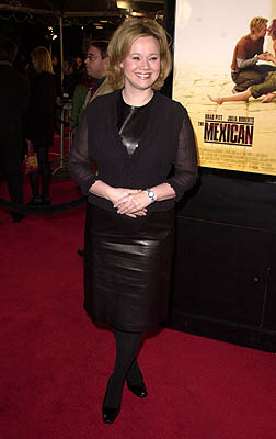 Premiere: Caroline Rhea at the Mann National Theater premiere of Dreamworks' The Mexican - 2/23/2001