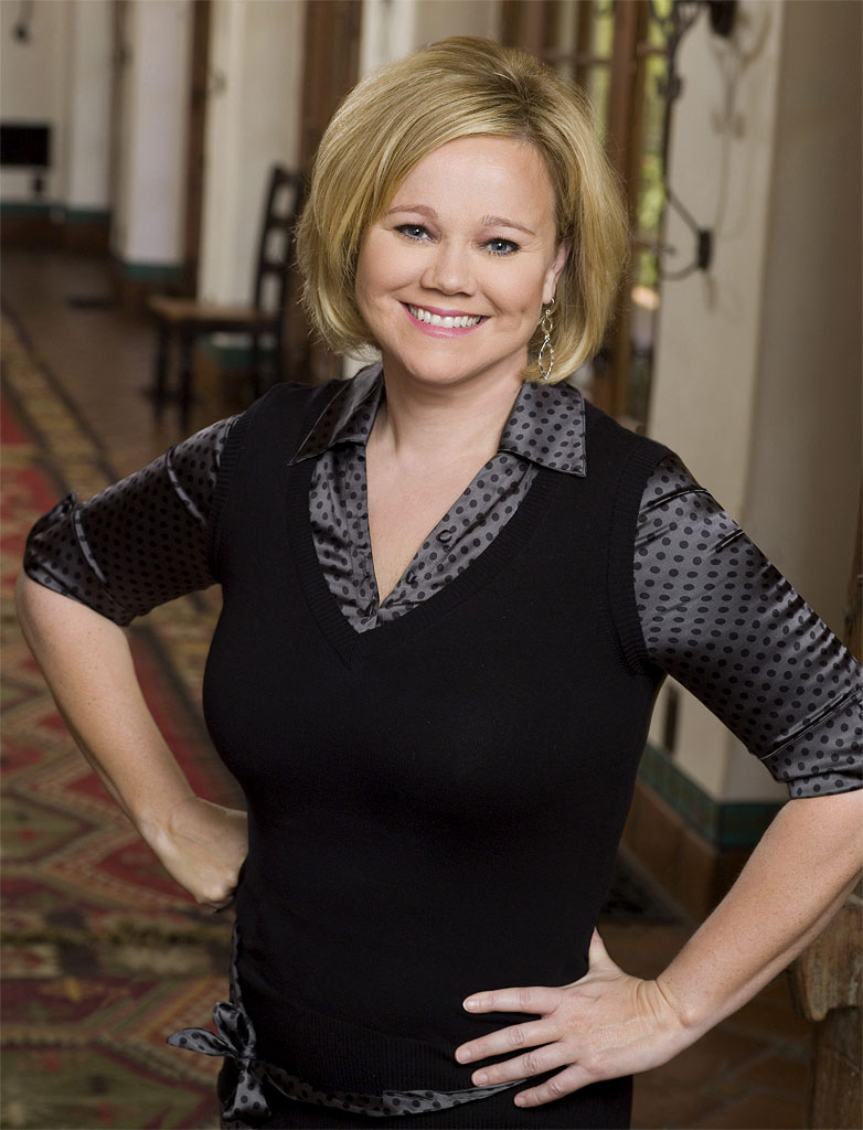 Caroline Rhea hosts NBC's The Biggest Loser.