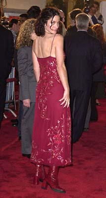 Premiere: Carrie-Anne Moss at the Mann's Village Theater premiere of Warner Brothers' Red Planet - 11/6/2000