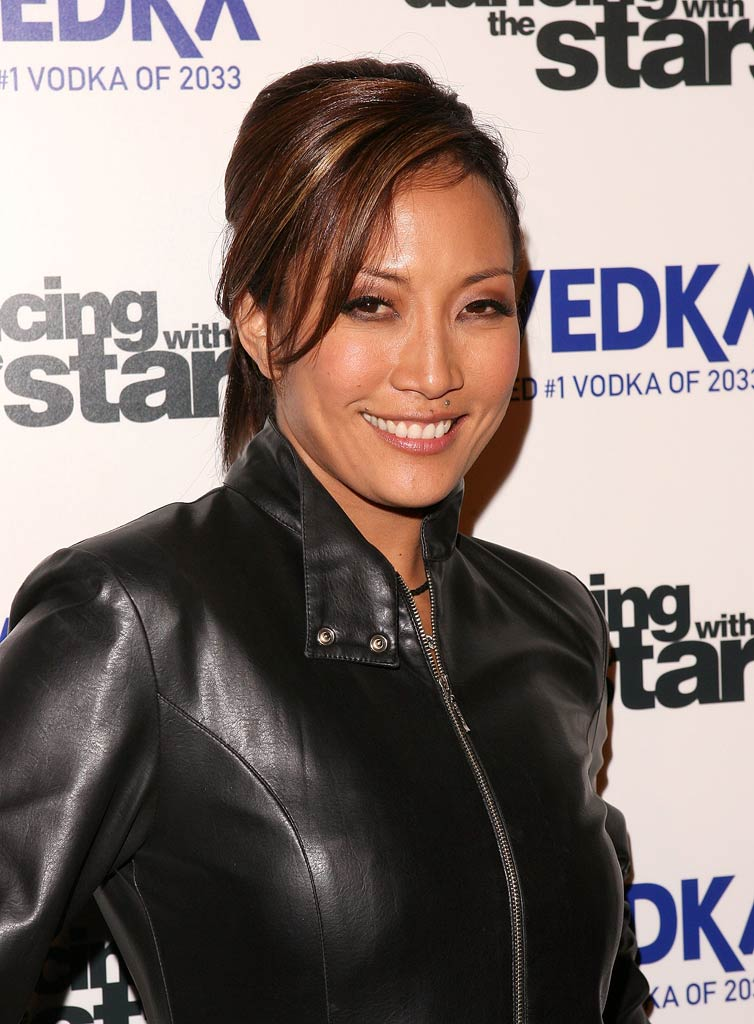 "Carrie Ann Inaba arrives at the ""Dancing With The Stars"" season finale after party."
