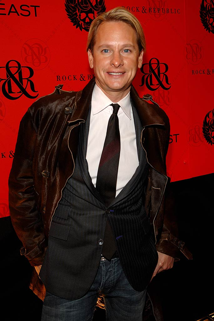 Carson Kressley at the Mercedes-Benz Fashion Week Fall 2007 - Rock & Republic.