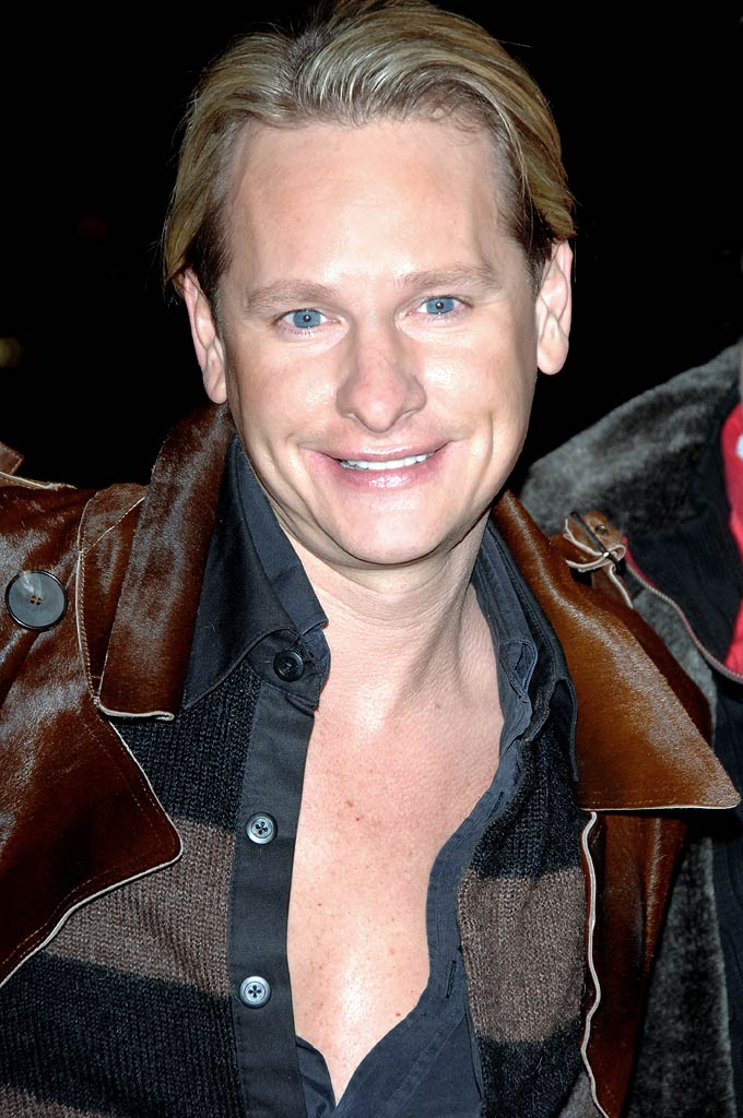 "Carson Kressley at The Cinema Society and Calvin Klein Host a Screening of ""Factory Girl."""