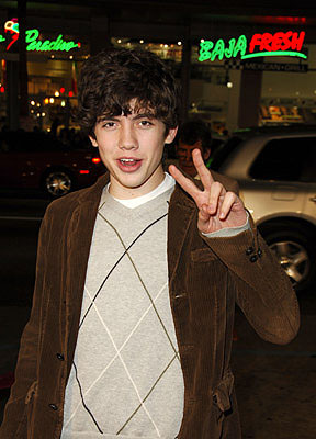Premiere: Carter Jenkins at the LA premiere of Warner Bros. Pictures' Firewall - 2/2/2006