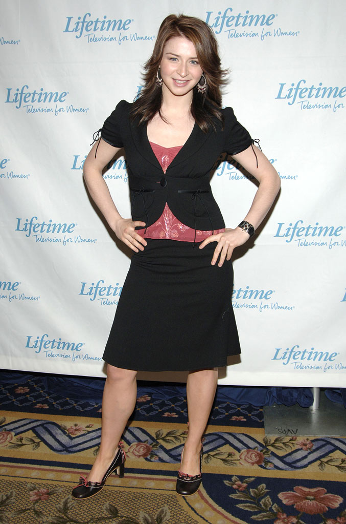 Caterina Scorsone at the 2005/2006 Lifetime Television UpFront Grand Hyatt Hotel in New York City, New York on April 14, 2005.
