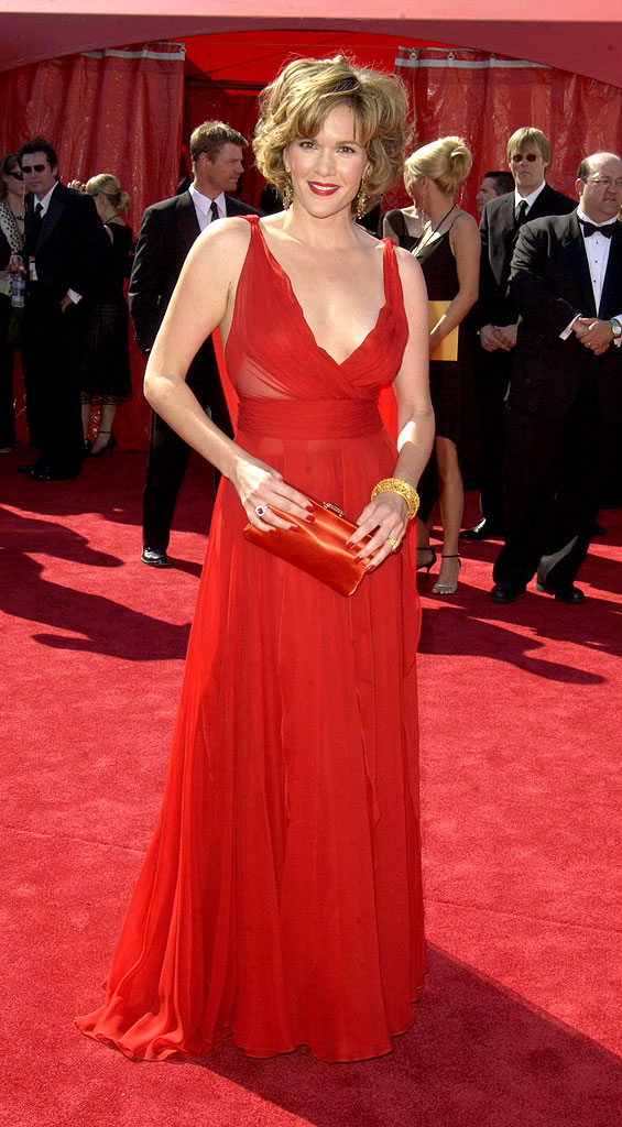 Catherine Dent at The 55th Annual Primetime Emmy Awards.