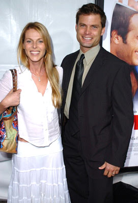 Premiere: Catherine Oxenberg and Casper Van Dien at the Westwood premiere of New Line Cinema's Monster-In-Law - 4/29/2005
