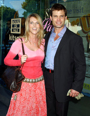 Premiere: Catherine Oxenberg and Casper Van Dien at Kitson in Beverly Hills for Warner Bros. Pictures' House of Wax - 4/21/2005
