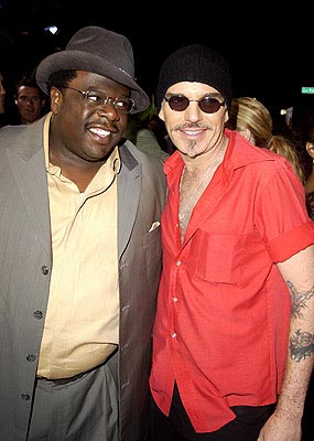 Premiere: Cedric The Entertainer and Billy Bob Thornton at the LA premiere of Universal's Intolerable Cruelty - 10/1/2003