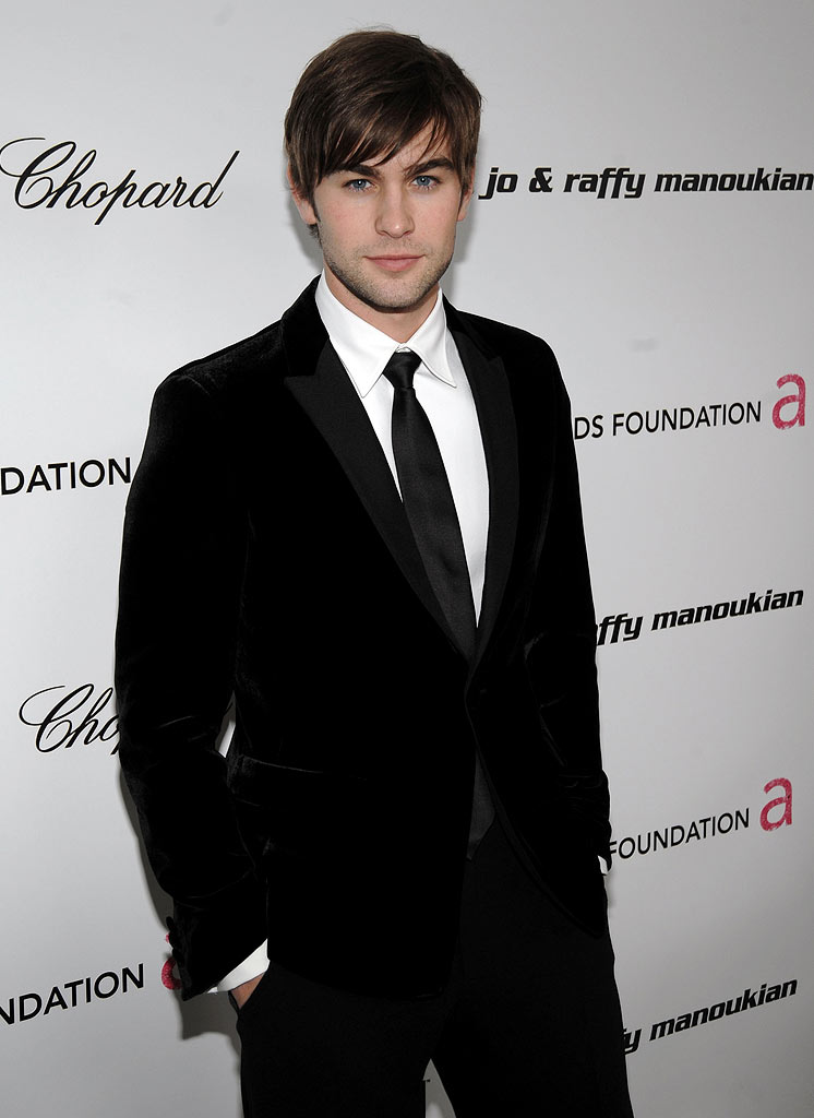 Chace Crawford arrives at the 17th Annual Elton John AIDS Foundation Oscar party held at the Pacific Design Center on February 22, 2009 in West Hollywood, California.