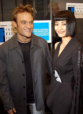 Chad Allen and Bai Ling Tribeca Film Festival, 5/11/2003