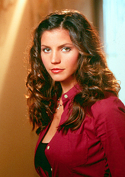 Charisma Carpenter as Cordelia Chase in Angel in WB's Angel