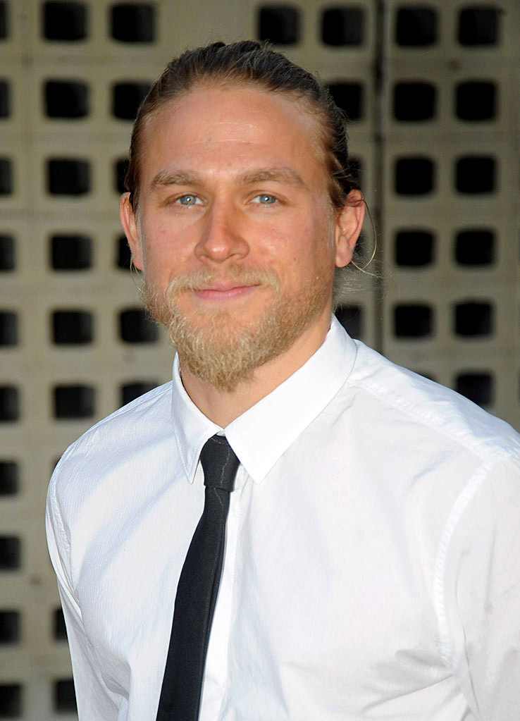 "Charlie Hunnam attends FX's ""Sons Of Anarchy"" Season 3 premiere on August 30, 2010, in Hollywood."