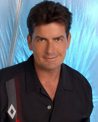 "Charlie Sheen as Charlie CBS' ""Two and a Half Men"""