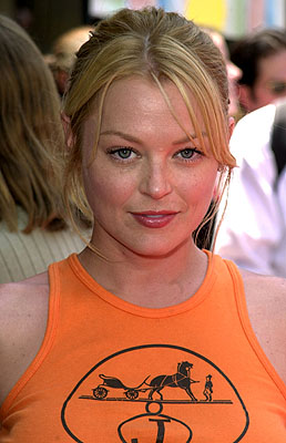 Premiere: Charlotte Ross at the Hollywood premiere of Walt Disney's The Princess Diaries - 7/29/2001