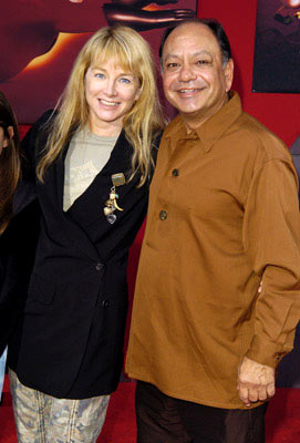 Premiere: Cheech Marin and wife at the Hollywood premiere of Disney and Pixar's The Incredibles - 10/24/2004