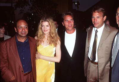 Premiere: Cheech Marin, Rene Russo, Don Johnson and Kevin Costner at the Westwood premiere of Tin Cup - 8/1/1996