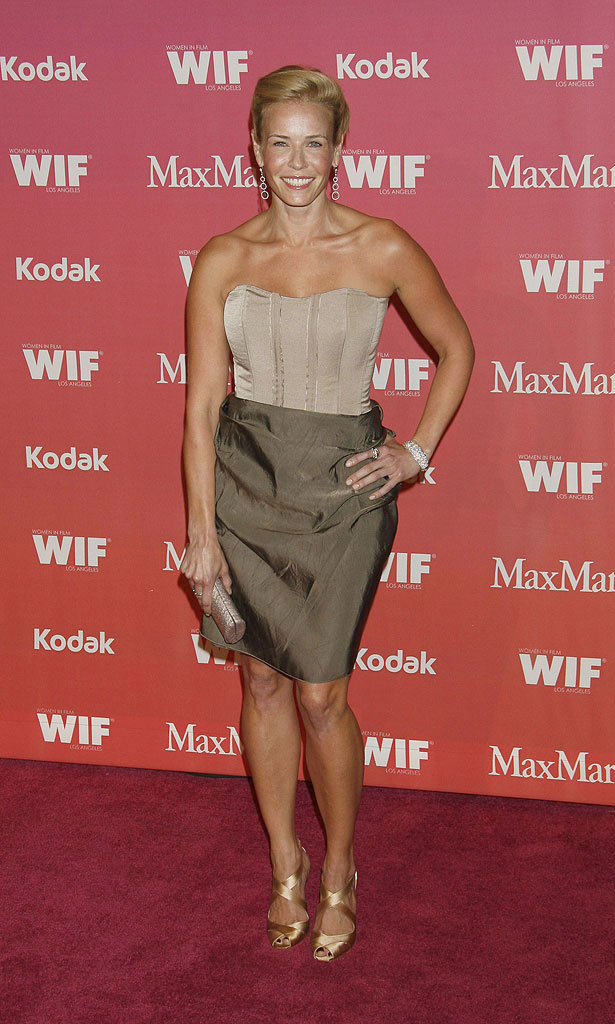 Chelsea Handler arrives at Women In Film's 2009 Crystal and Lucy Awards at the Hyatt Regency Century Plaza on June 12, 2009 in Century City, California.