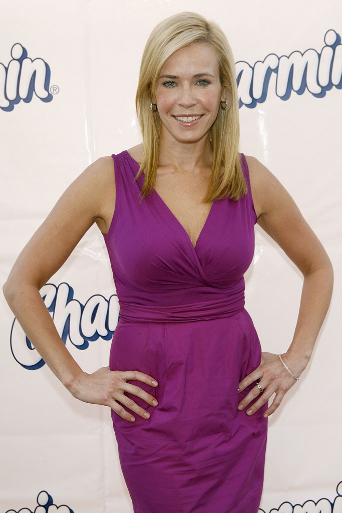 "Chelsea Handler attends Charmin's ""Plush Potties"" Event at Third Street Promenade on October 28, 2008 in Santa Monica, California."