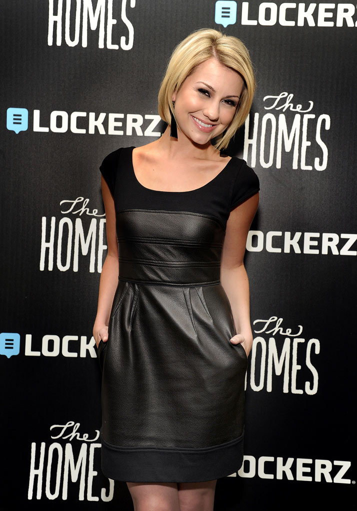 "Chelsea Kane attends the premiere of ""The Homes"" on Lockerz.com on January 27, 2011 in Beverly Hills, California."