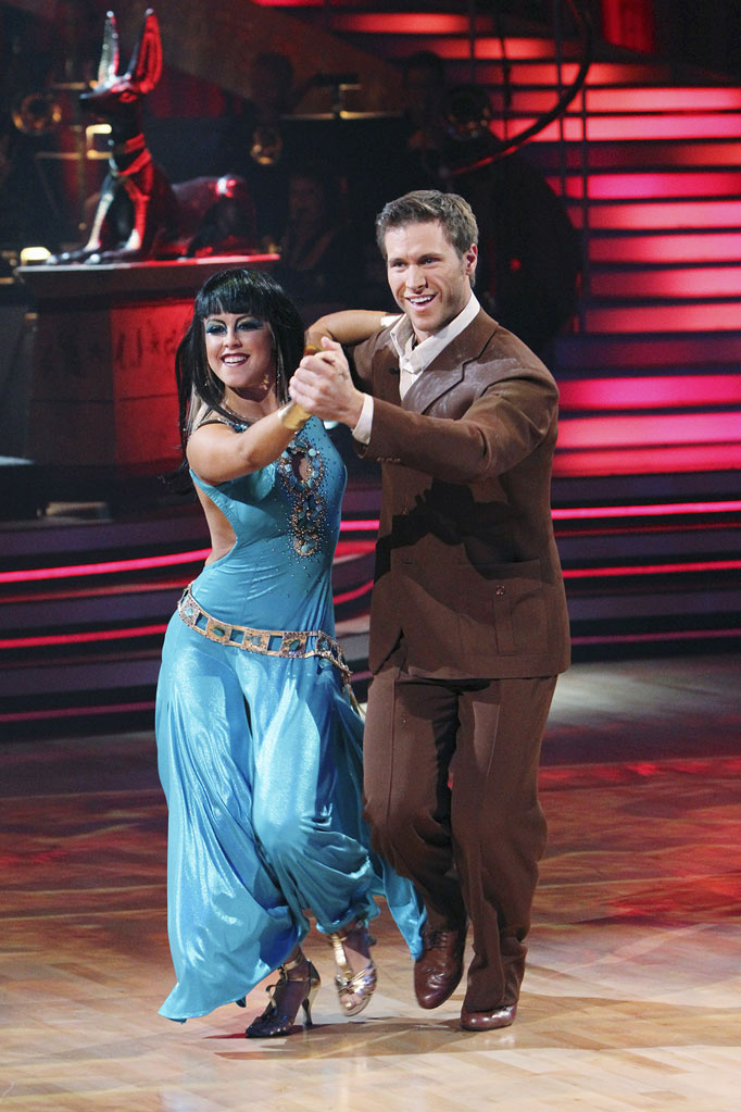 "Chelsie Hightower and Jake Pavelka on ""Dancing with the Stars."""