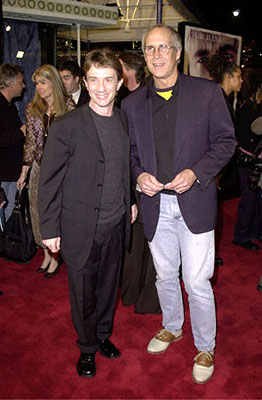 Premiere: Martin Short and Chevy Chase at the Westwood premiere of 20th Century Fox's Cast Away - 12/7/2000