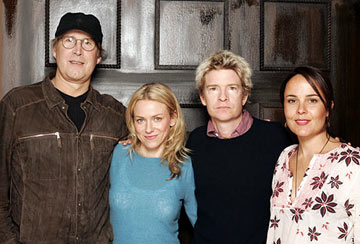 Chevy Chase, Naomi Watts, writer/director Scott Coffey and Rebecca Rigg Ellie Parker Portraits - 1/21/2005 Sundance Film Festival