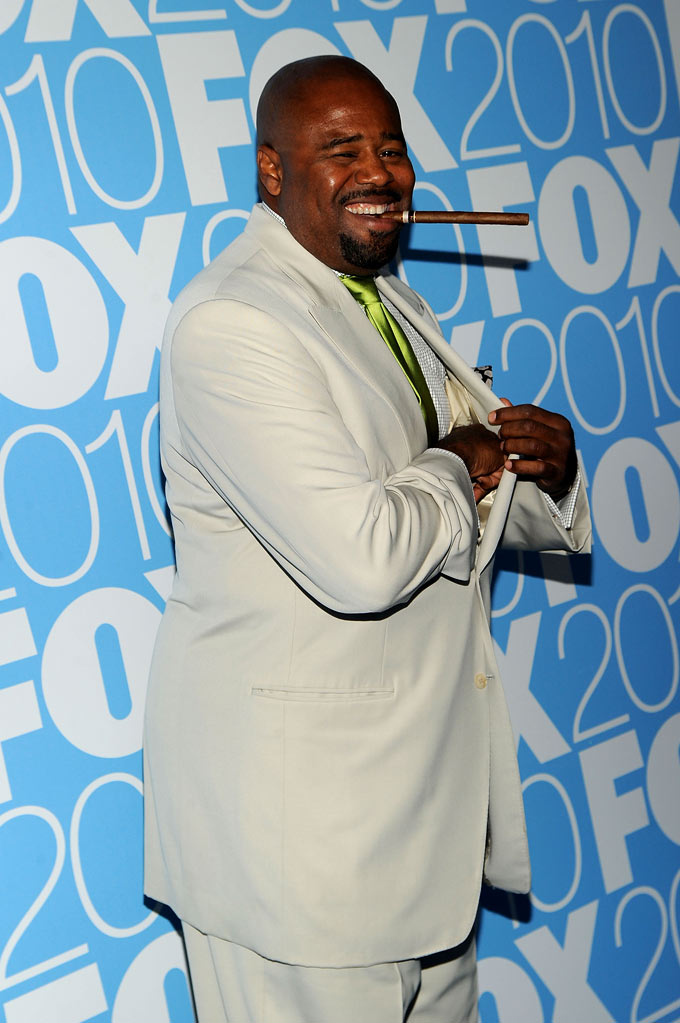 "Chi McBride (""Human Target"") attends the 2010 Fox Upfront after party at Wollman Rink, Central Park on May 17, 2010 in New York City."
