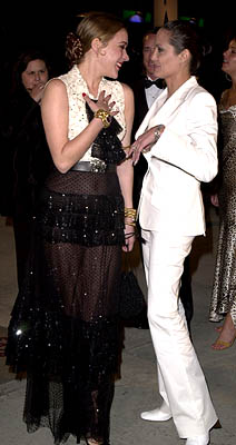 Chloe Sevigny and Angelina Jolie 73rd Academy Awards Vanity Fair Party Beverly Hills, CA 3/25/2001