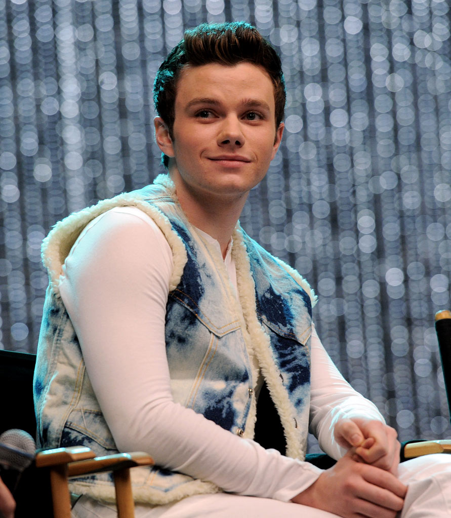 "Chris Colfer appears at the ""GLEE"" 300th musical performance special taping at Paramount Studios on October 26, 2011 in Los Angeles, California."