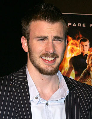 Premiere: Chris Evans at the New York premiere of 20th Century Fox's Fantastic Four - 7/6/2005