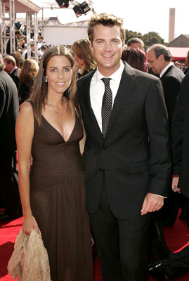 Chris O'Donnell and wife Caroline Fentress Emmy Awards Arrivals - 9/18/2005